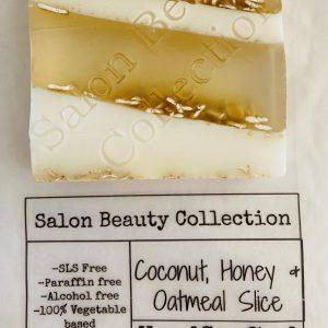 Coconut, Honey & Oatmeal Soap Slice